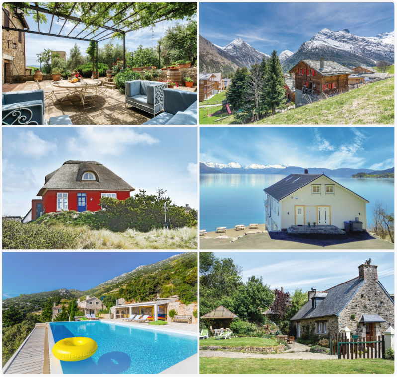 50,000 holiday homes in 25 countries.