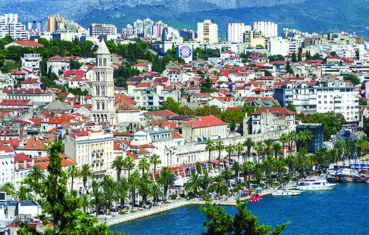 Split promenade is called Riva