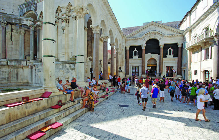 Diocletian Palace in Split