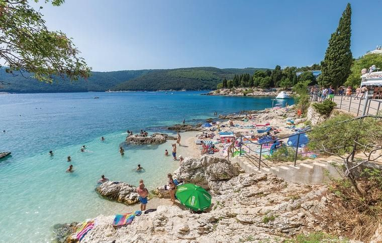 Rabac in East Istria