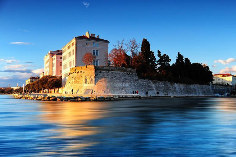 The town of Zadar