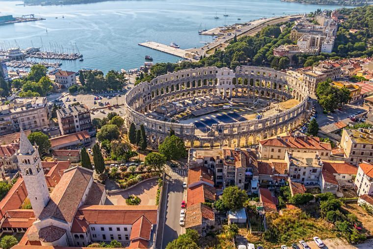 Pula in South Istria