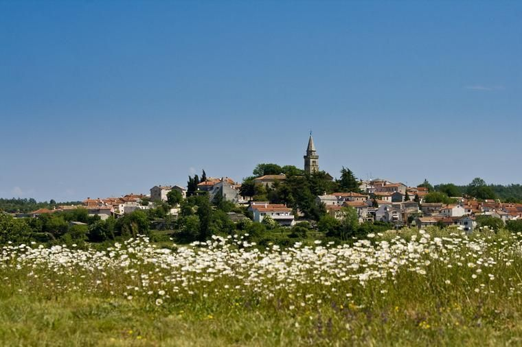 Zminj in Central Istria